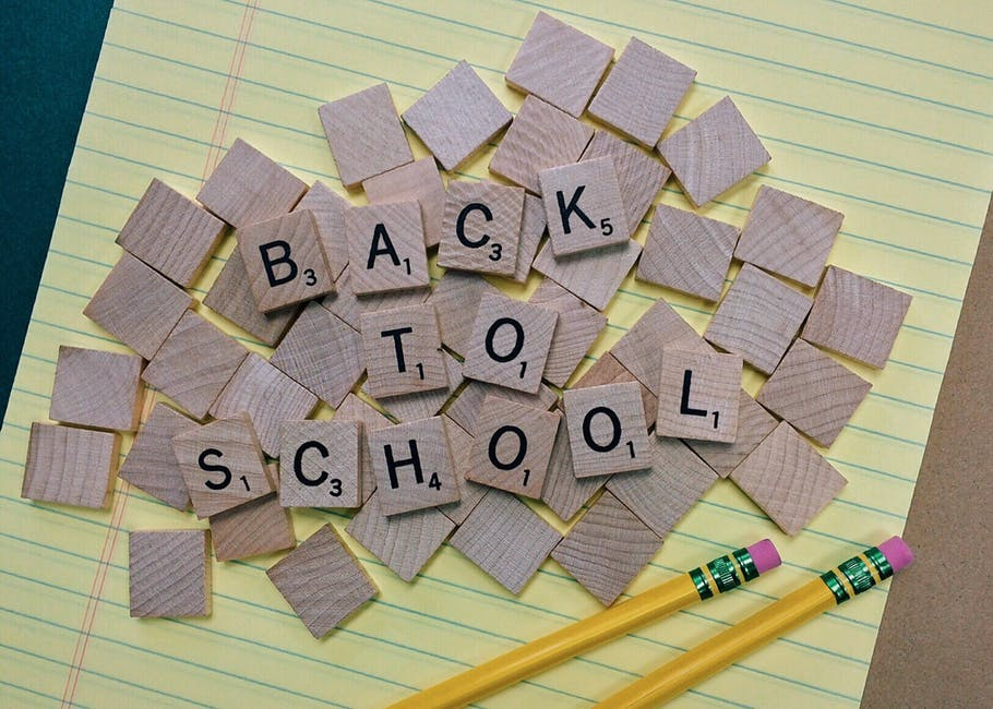 4 Back to School Tips!